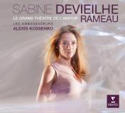 Pochette du CD Sabine Devieihe et Alexis Kossenko  Rameau chez ERATO
