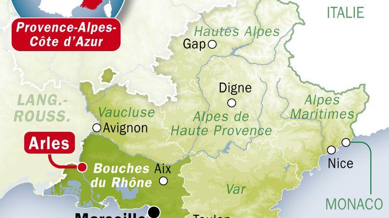 Carte Arles