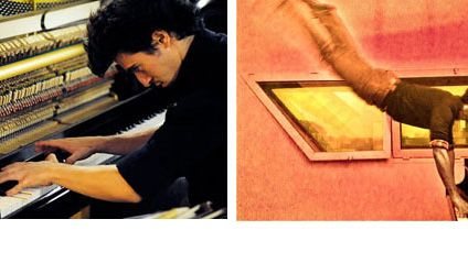 Alvise Sinivia, piano