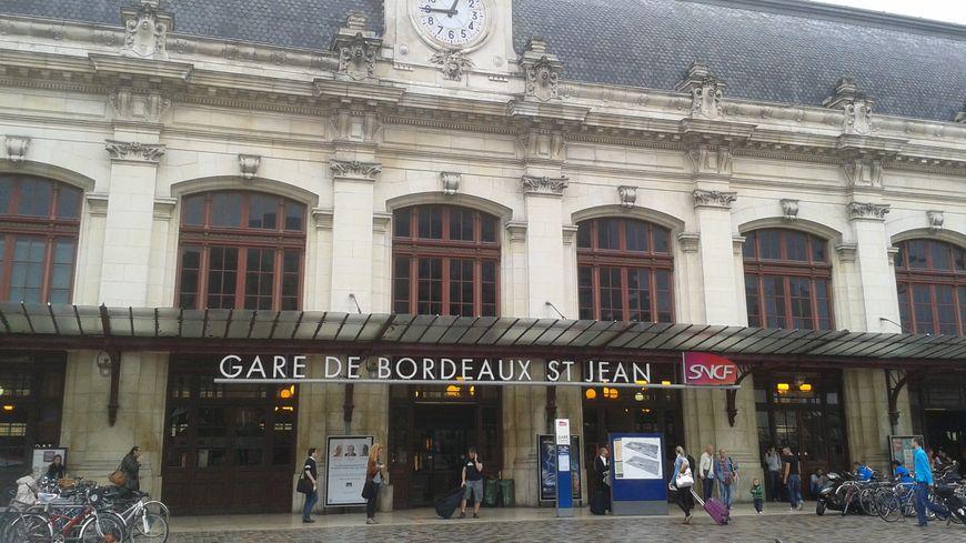 La gare St Jean, à Bordeaux