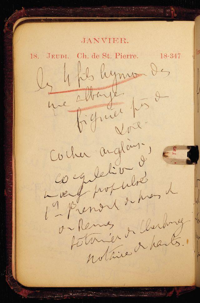 Agenda Proust 1