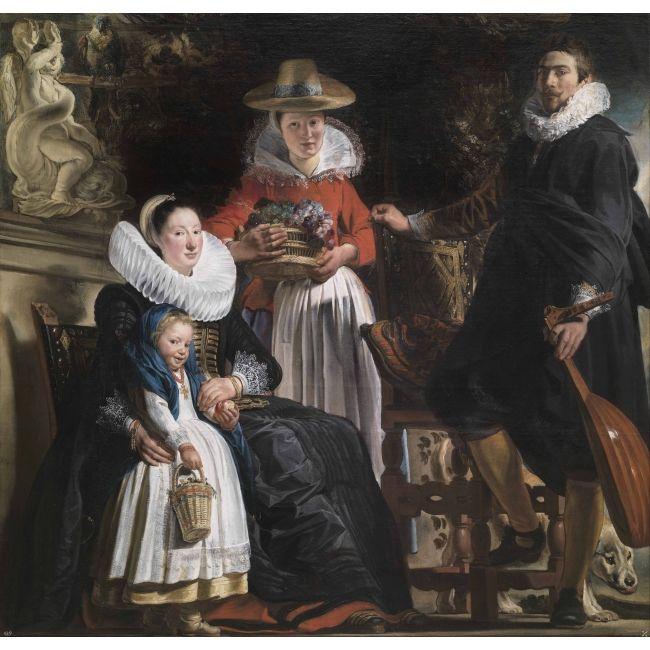 Jordaens 1593-1678, La gloire d'Anvers