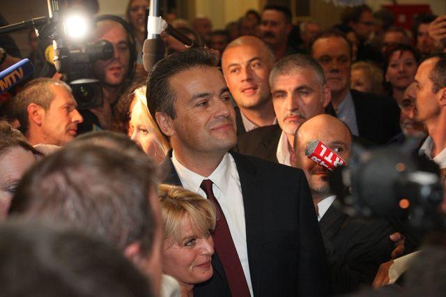 Laurent Lopez a remporté l'élection cantonale de Brignoles