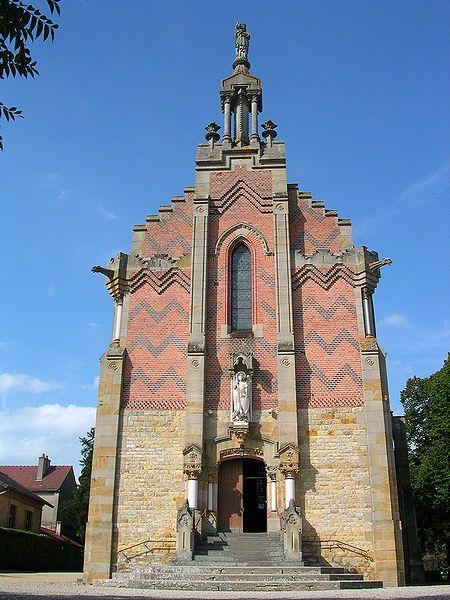 Avermes (Allier) - église Notre Dame de la Salette d'Avermes