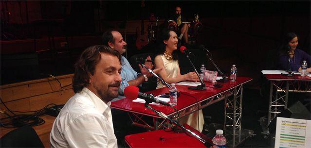 Henri Leconte pendant l'émission