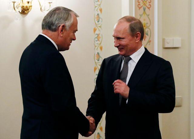 Ayrault en Russie