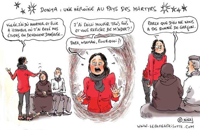 Donya : une héroïne au pays des martyrs