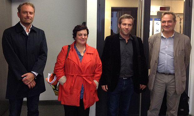 Cyril Zha, Nathalie Birchem, Derek Perotte, Jean-Marie Charon