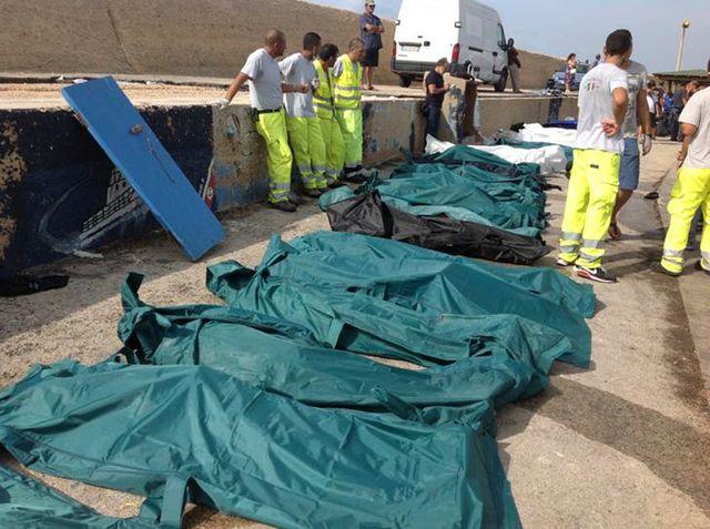 Le naufrage rappelle de mauvais souvenirs à Lampedusa