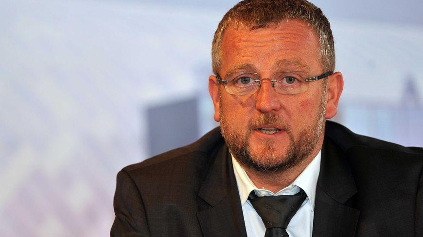 Jean Raymond Legrand, le président du VAFC, le club de football de Valenciennes