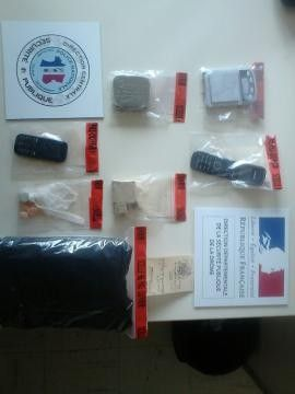 De la drogue découverte dans le plafond d'une cabine téléphonique à Valence