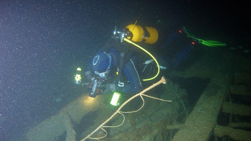 Un chalutier identifié au large de Dieppe près d'un siècle après son naufrage