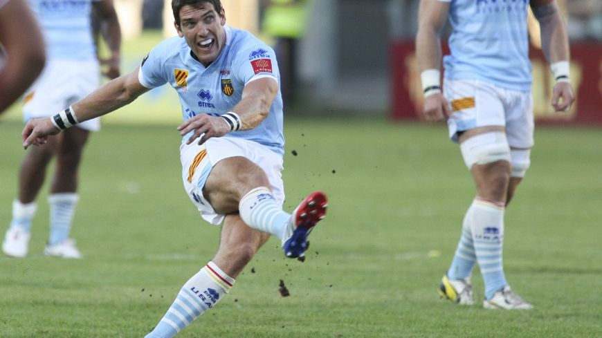James Hook, l'homme en forme de l'USAP