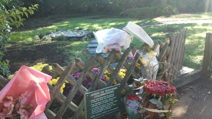 Le jardin du souvenir du cimetières Sud au Mans