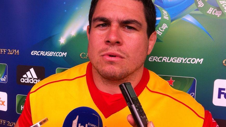 Guilhem Guirado, talonneur de l'USAP