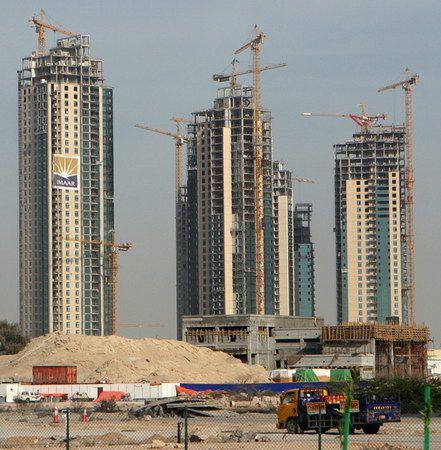 Un chantier à Dubaï