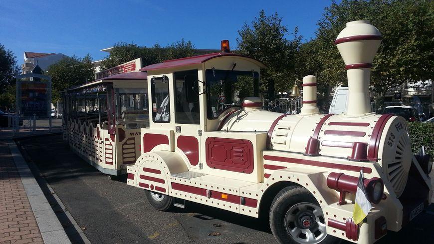 Le petit train touristique d'Arcachon