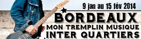 Tremplin musique interquartiers avec France Bleu Gironde Bandeau