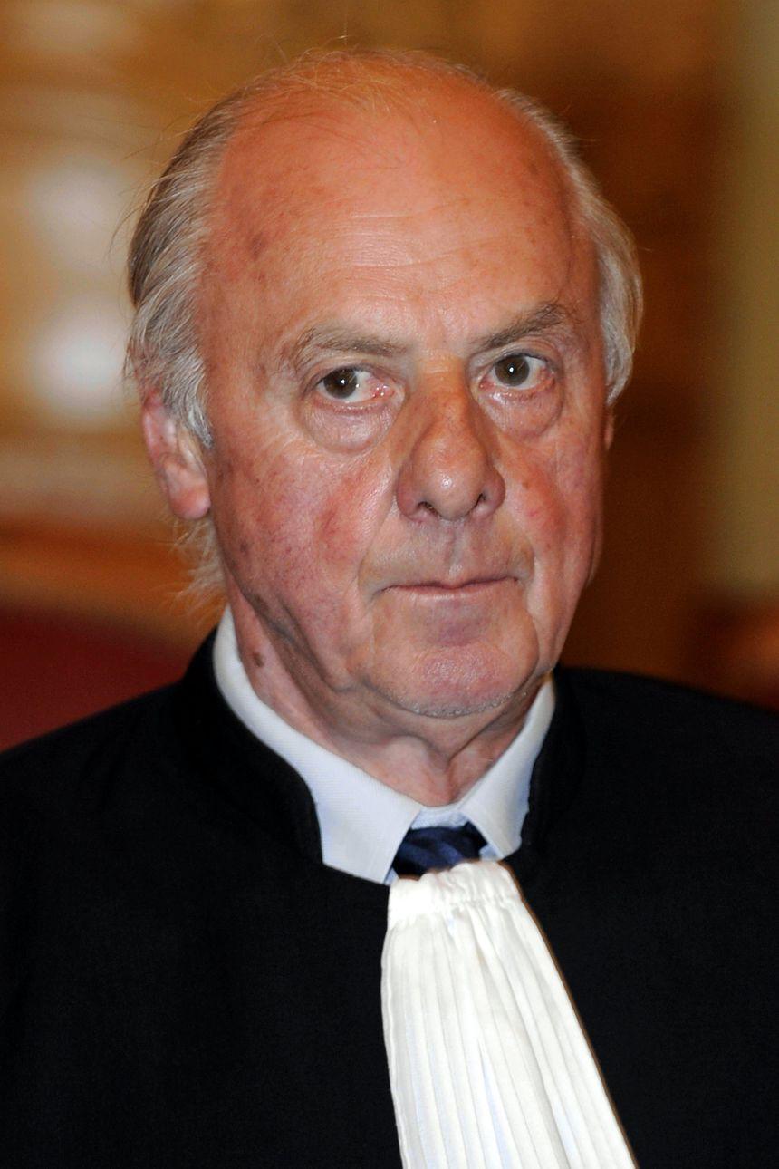 L'avocat des parties civiles Marc Vialle pendant le troisième procès de Jean-Louis Muller, à Nancy le 21 octobre 2013