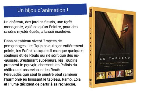 Le Tableau. réalisé par Jean-François Laguionie