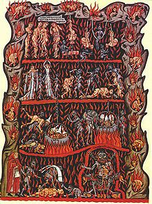 vision de l'enfer au Moyen-âge