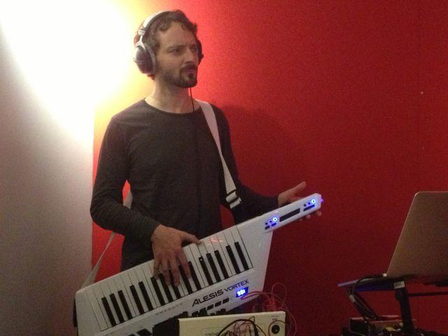 Julien Perraudeau au studio 61