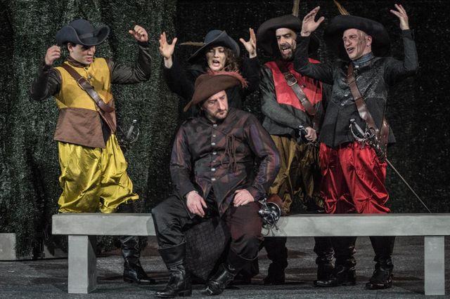 Patrick Pineau en Cyrano de Bergerac