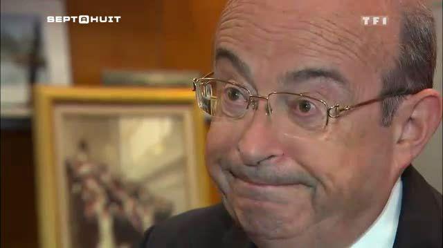 """Jean Germain le 6 octobre sur TF1, pour sa première explication sur le fond de l'affaire des """"mariages chinois""""."""