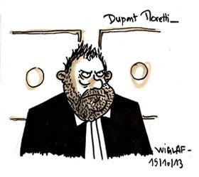 Croquis de Dupont-Moretti