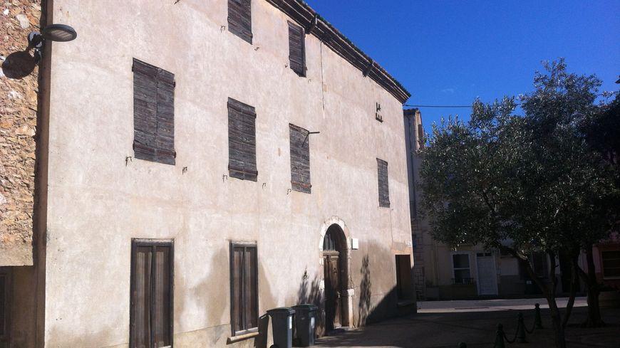 La maison de Claude Simon à Salses-le-Chateau