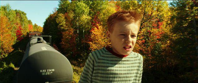 Kyle Catlett interprète le jeune T.S. Spivet