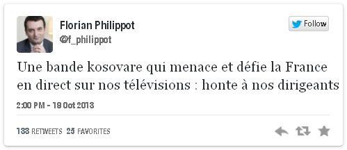 Tweet Philippot