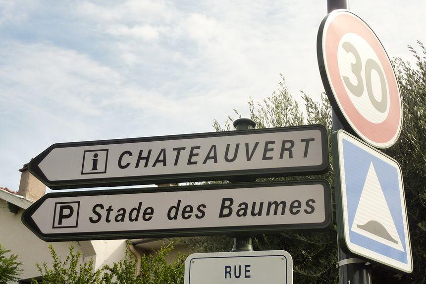 La rue Châteauvert à Valence est en zone 30 depuis le 1er octobre 2013.