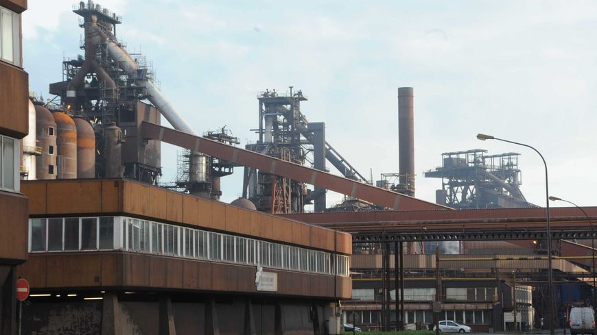 L'usine ArcelorMittal de Dunkerque