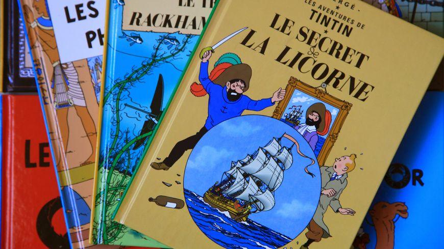 L'image de Tintin est extrêmement protégée par la société Moulinsart