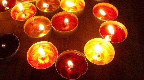 Deux heures sans électricité... on a sorti les bougies !