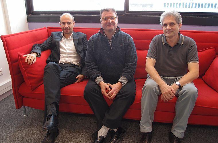 Pierre-Yves Jolivet, Yves Riesel et Philippe Aigrain