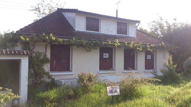 la maison avant démolition