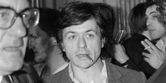 Patrice Chéreau, en 1983, lors d'une réception au Ministère de la Culture