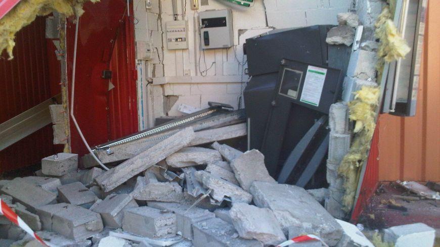 Le DAB après l'explosion au gaz