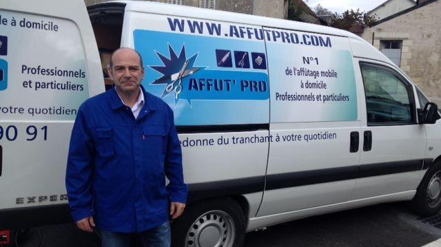 Fabrice Bourquin, affuteur itinérant