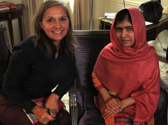 Dominique André et Malala