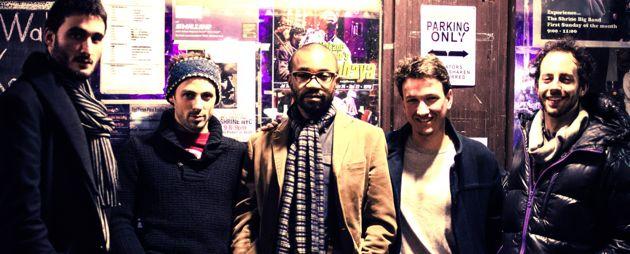 Thomas Moisson et les musiciens de Glaz | Road, sa création bretagne-USA