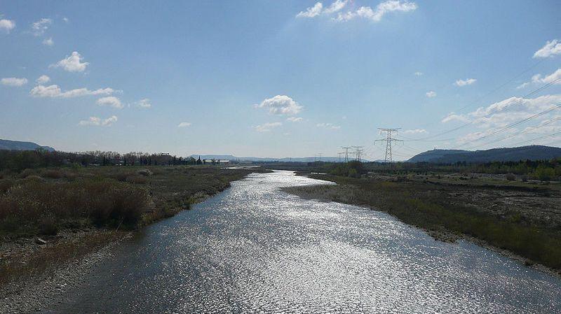 La Durance près de Cavaillon