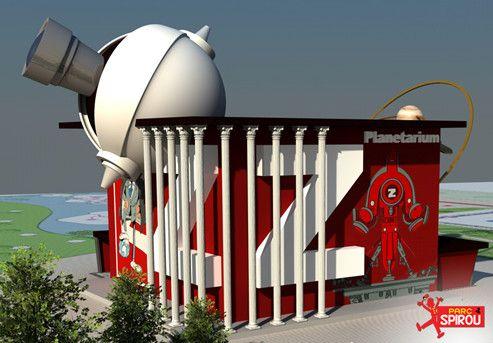 Parc Spirou : planetarium