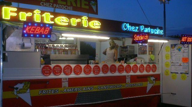 "Friterie ""Chez Patoche"" à Berck-sur-Mer"