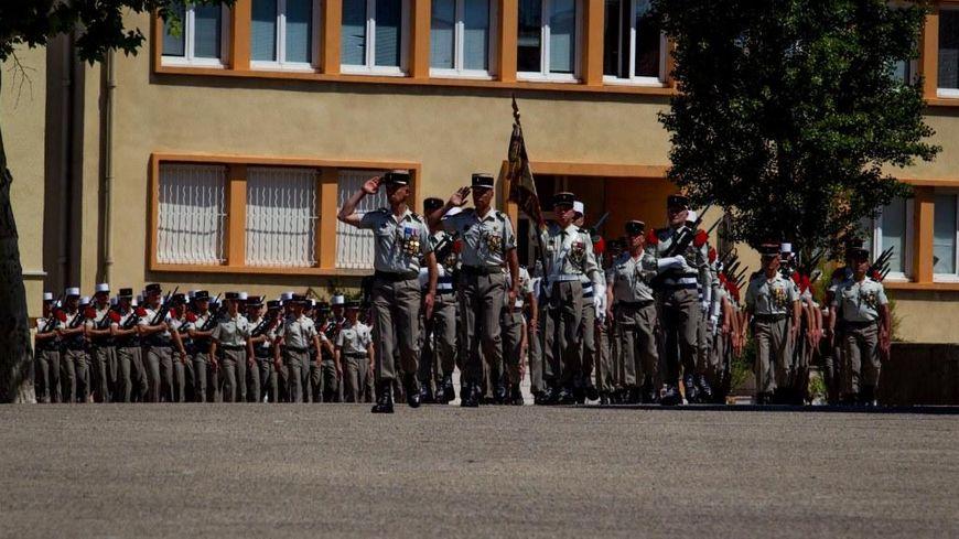 Les légionnaires du 1er REC à Orange