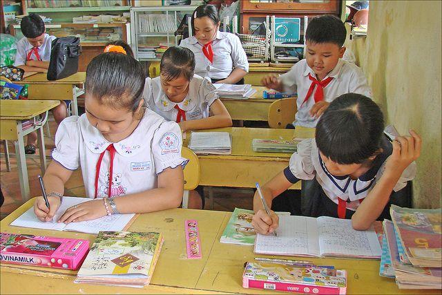 L'école bilingue francophone Trung Vuong (Sa Dec, Vietnam)
