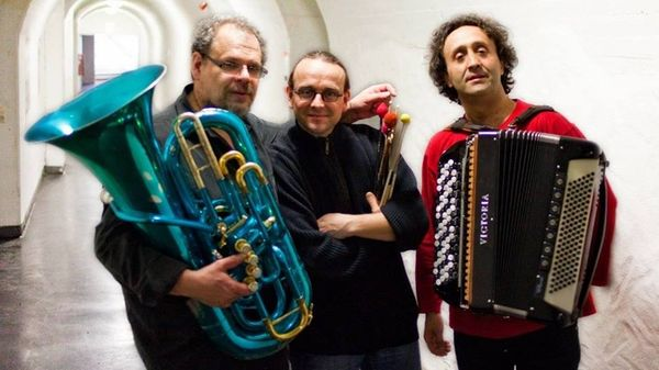 Jazz Bonus : Luciano Biondini, Michel Godard, Lucas Niggli