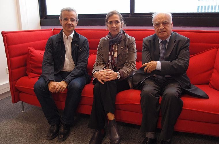 Patrice Geoffron, Myriam Maestroni et Pierre Papon
